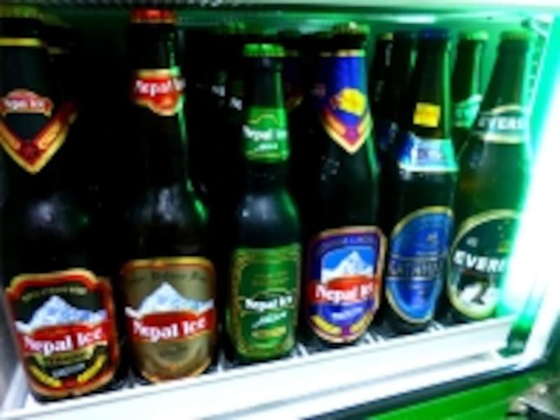 新しいビールに押され気味のエベレスト