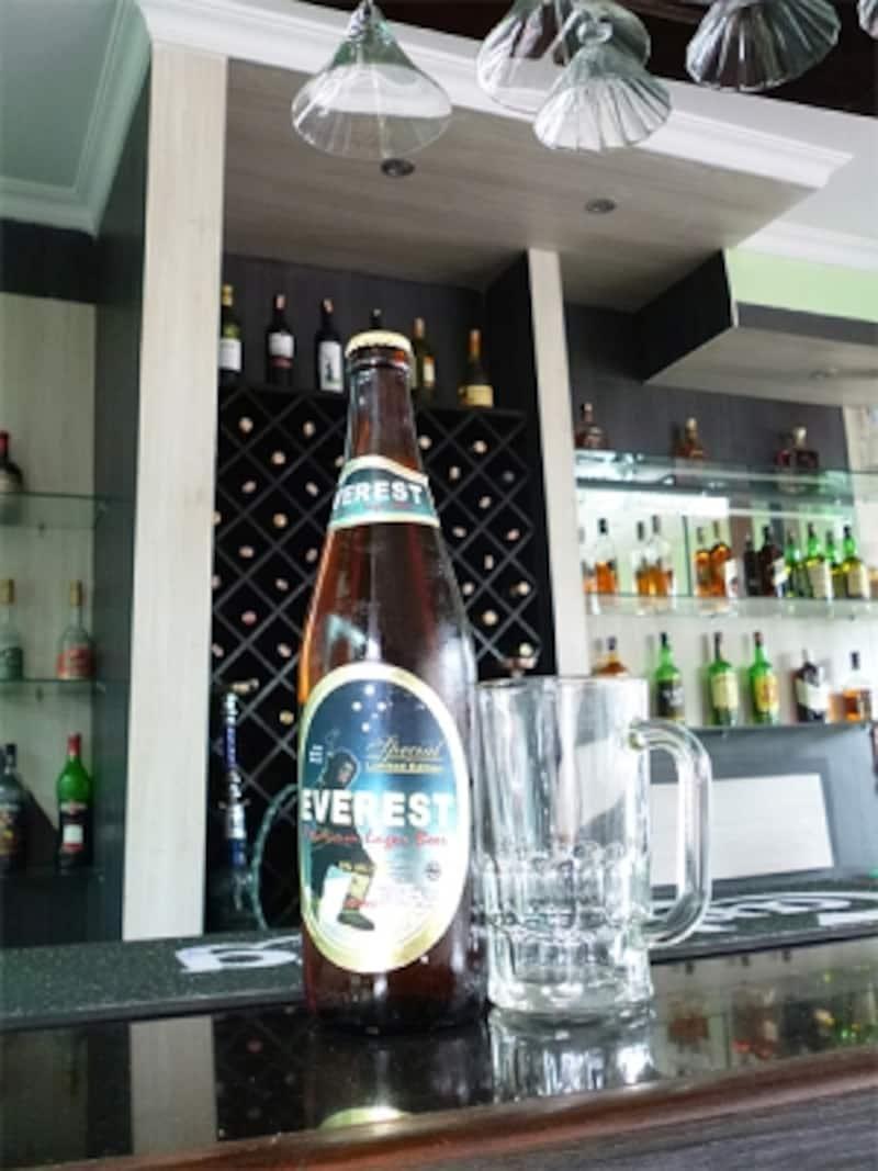エベレストビール大瓶undefined限定ラベル