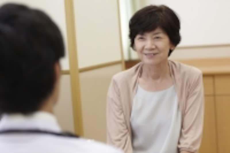 笑顔の患者さん