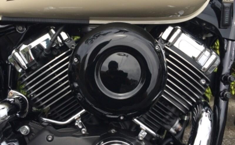 ドラッグスター400エンジン