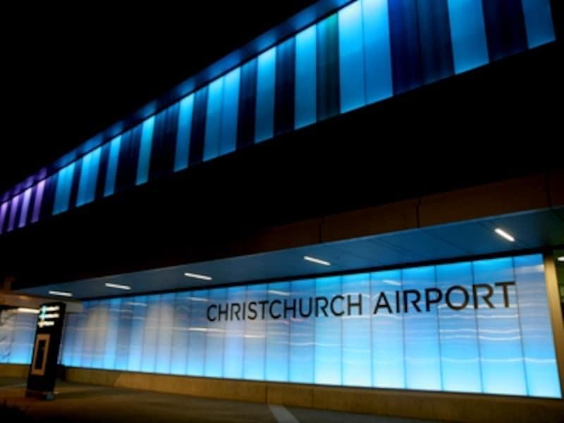 ニュージーランド南島の玄関口、クライストチャーチ国際空港