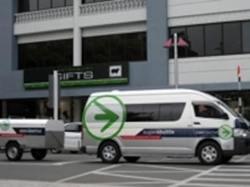 低料金で便利なシャトルバス