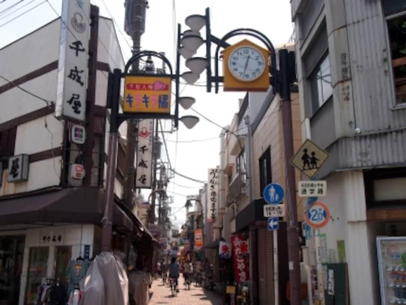 以前、「橘館通り」と呼ばれていた