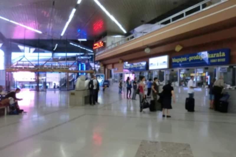 ザグレブ中央バスターミナル