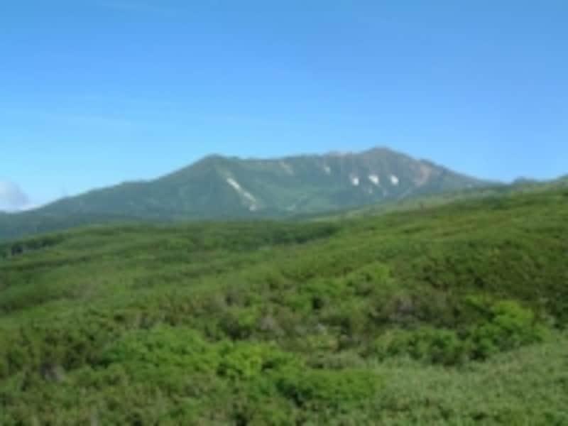 大雪山旭岳ロープウェイからの眺め/当麻岳と安足間岳