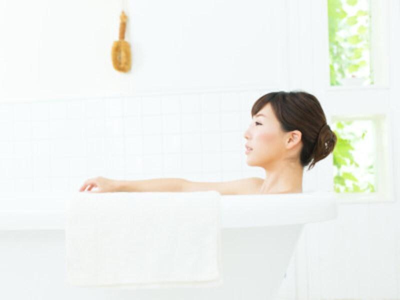 わが家のバスルームで、ゆったりとひとりの時間を楽しみたい。(写真はイメージ)