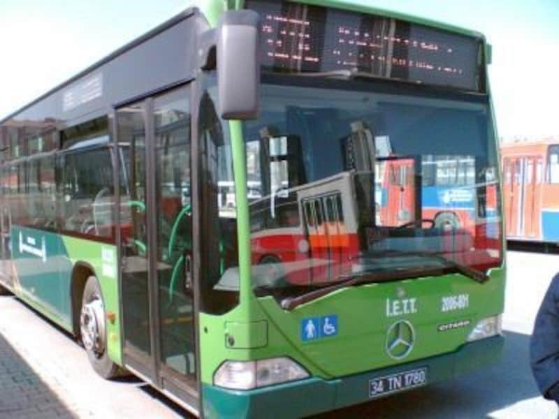 バスは荷物が大変かも