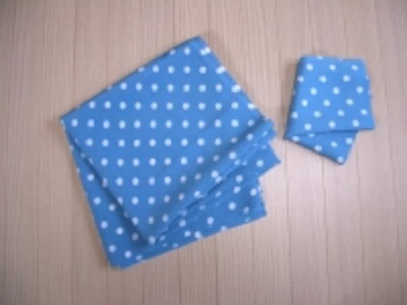 用意する布