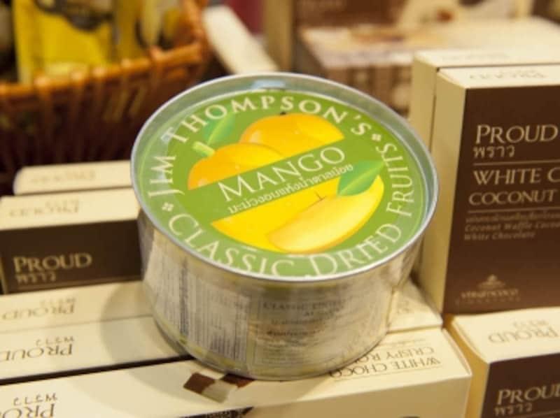 ジムトンプソン・ドライマンゴーundefined180gundefined180バーツ(約540円)自社ファームで穫れたフルーツを使用しており、種類も豊富