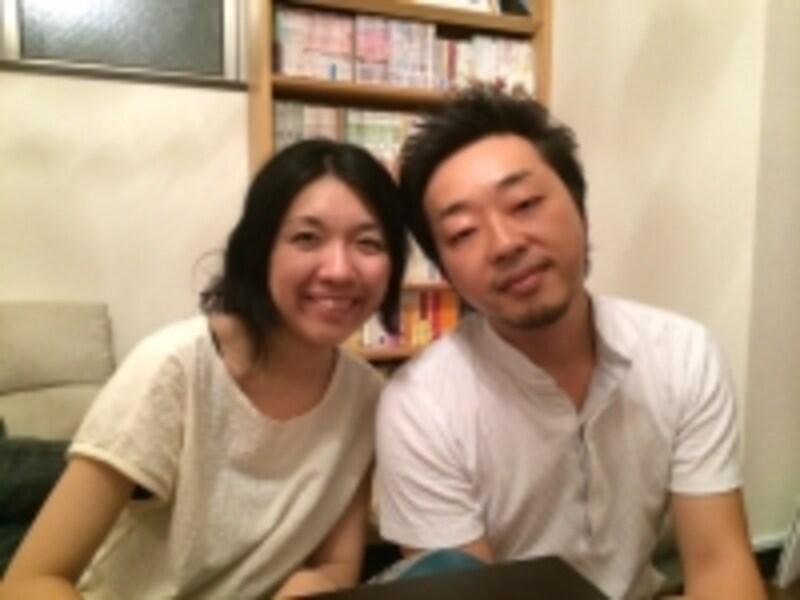 和基さん、奈央美さん夫妻