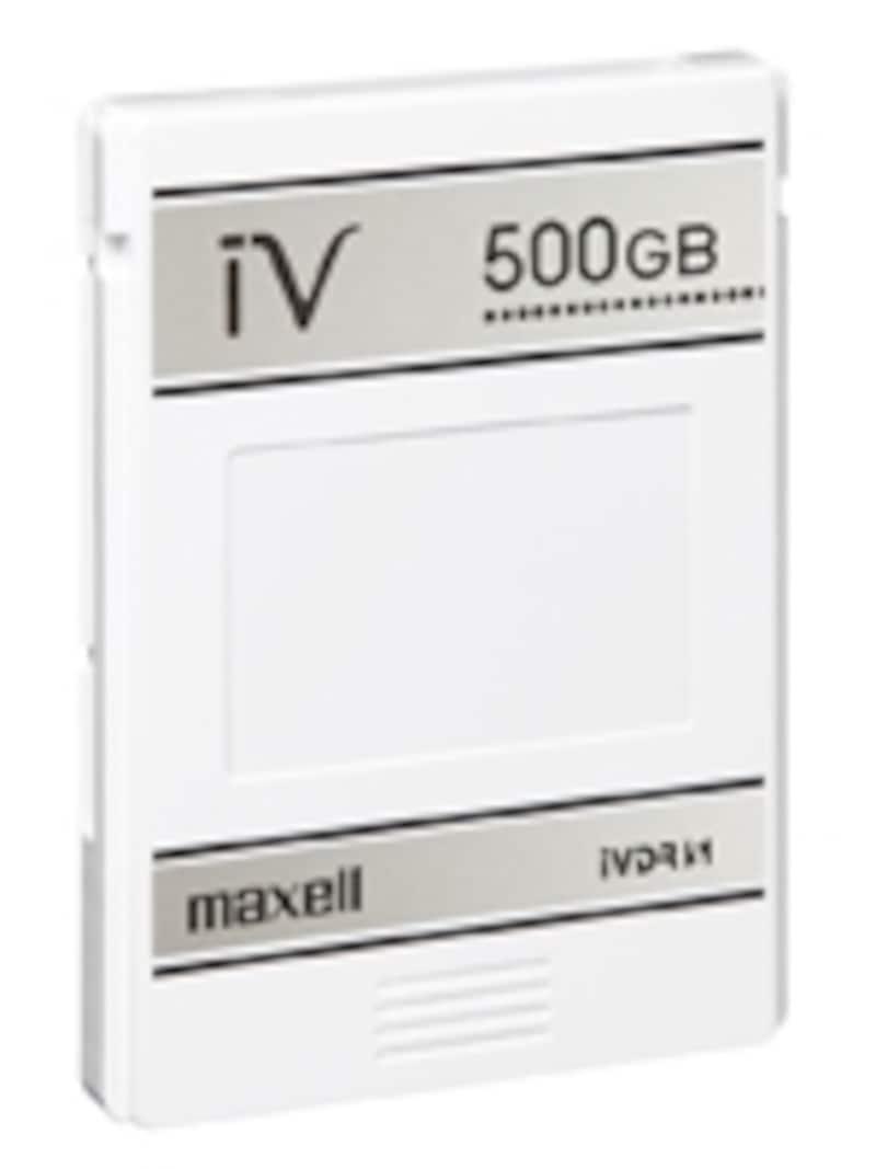 マクセルから販売されているカセットハードディスク「iV(アイヴィ)」500GBモデル