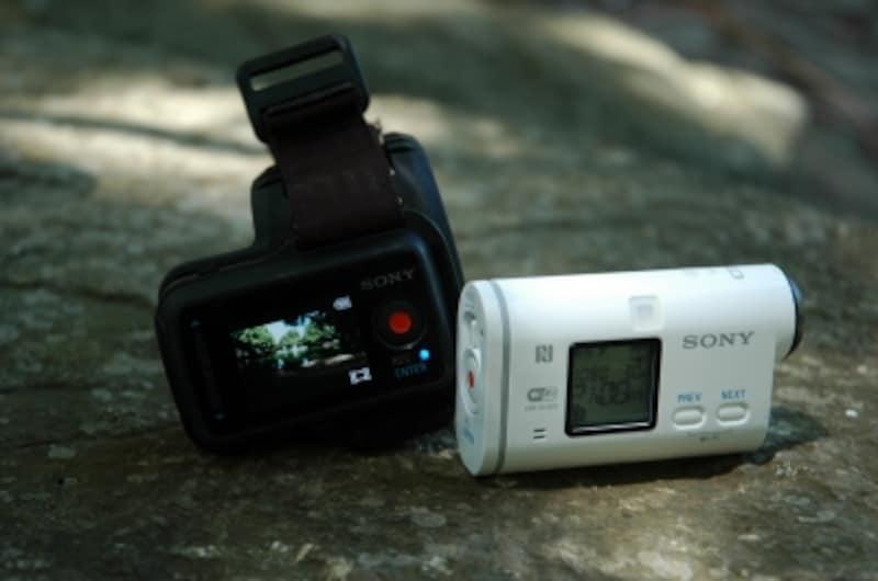 ソニーのアクションカム『HDR-AS100V』
