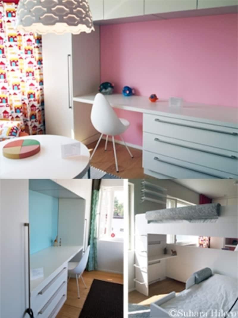 北欧フィンランドの子ども部屋