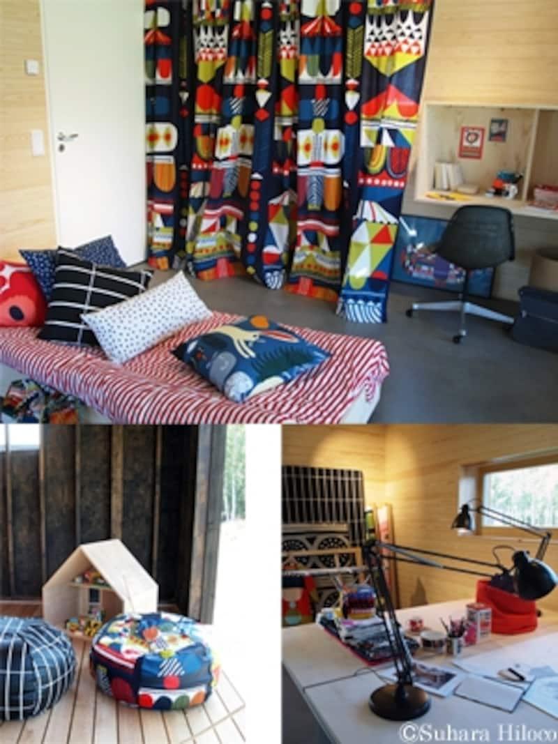 マリメッコとムーミンの子ども部屋