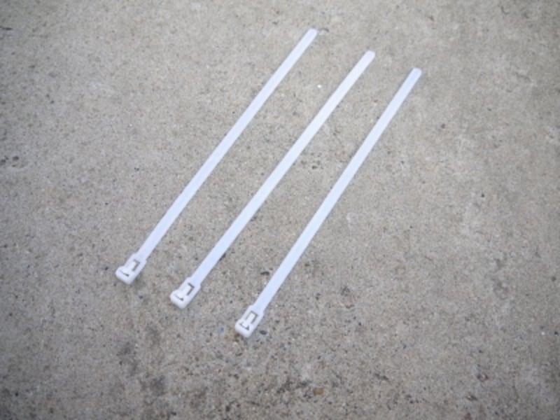 オーニング風サンシェード(日除け)のDIYに必要な道具:取り付け用バンド