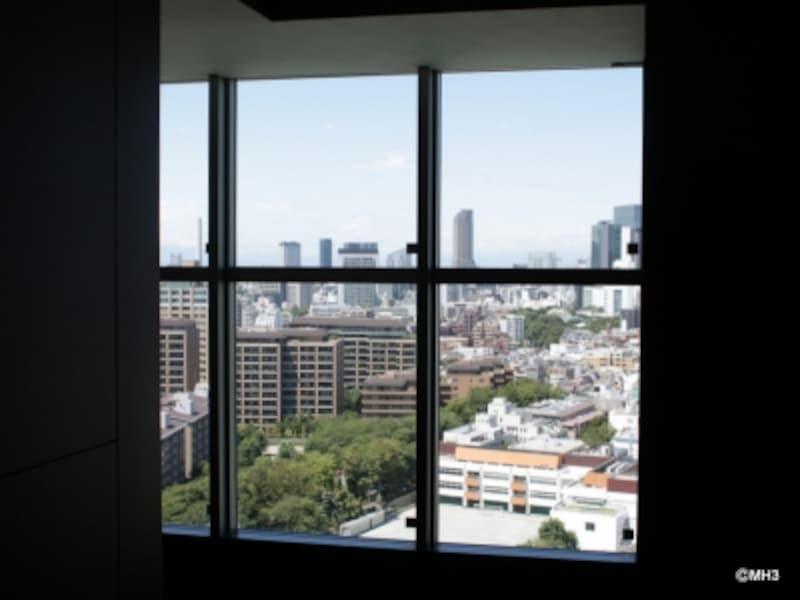 24階EVホールからの眺め
