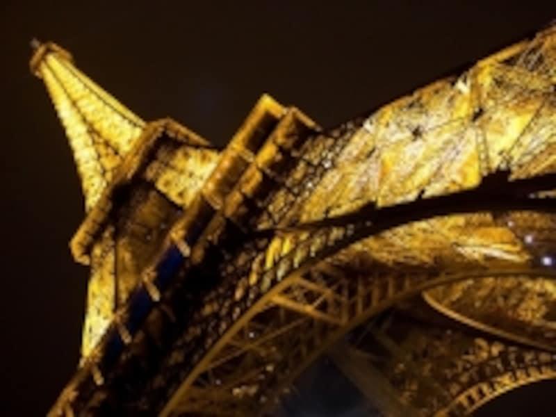 エッフェル塔のライトアップ