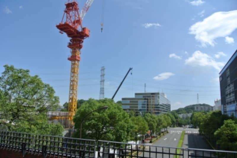 ザ・パークハウス多摩センターの建設地