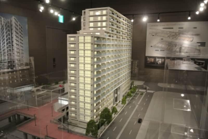 ザ・パークハウス多摩センターの完成予想模型