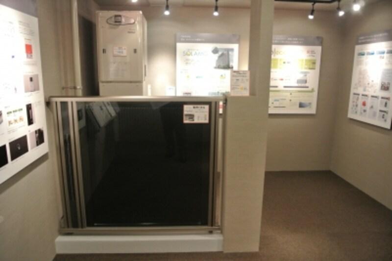 太陽熱利用ガス温水システム「SORAMO」の展示
