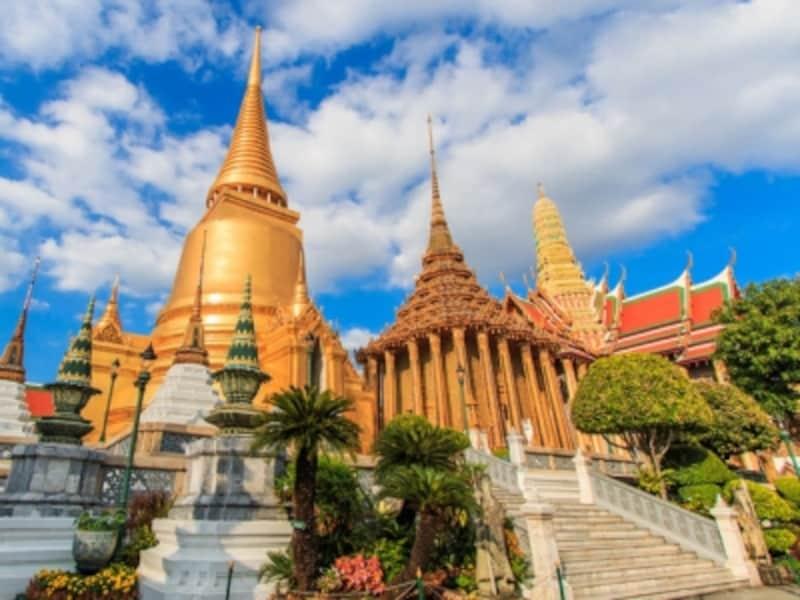 きらびやかなタイの寺院