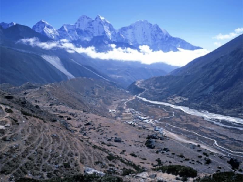 ヒマラヤトレッキングundefinedジョムソン以北は荒涼とした山岳地帯