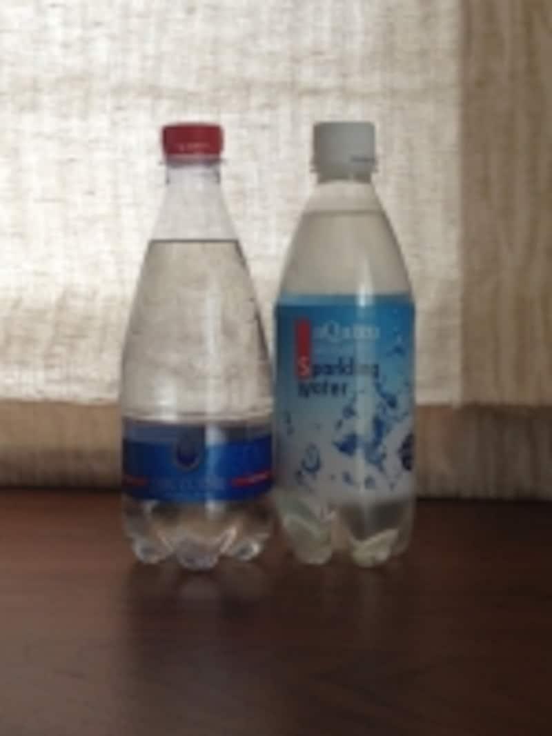 微炭酸の水