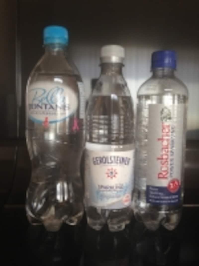 硬度の高い炭酸水