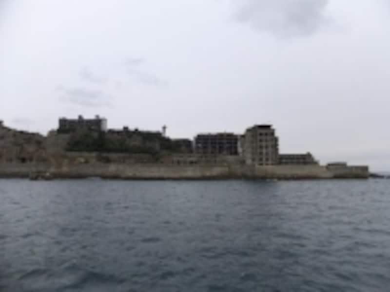 軍艦島(2)/北東側を眺める