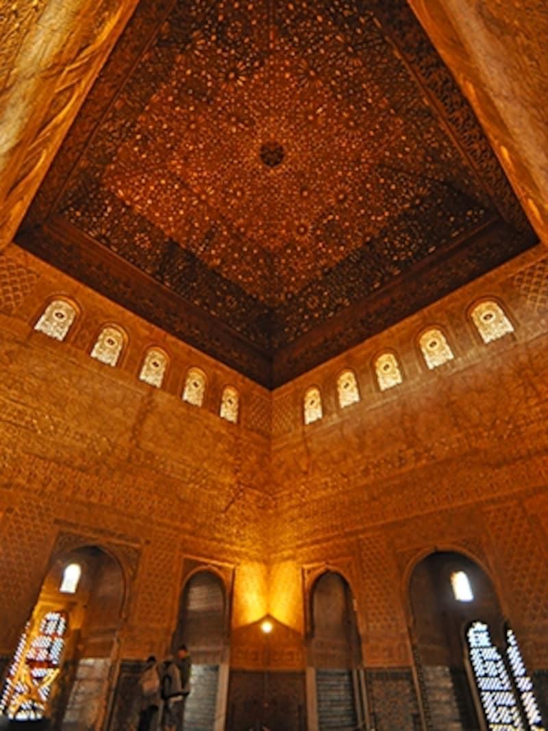 ナスル朝宮殿のコマレス宮、大使の間