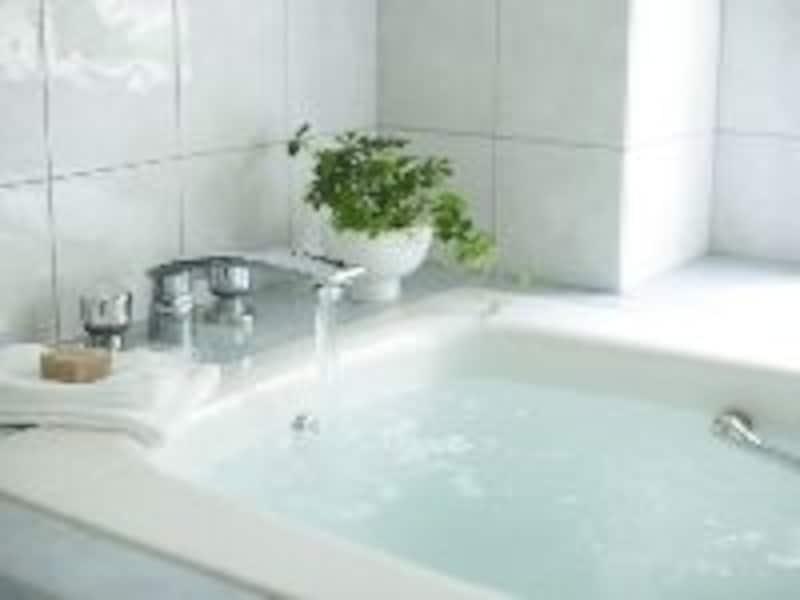 湯船で入浴