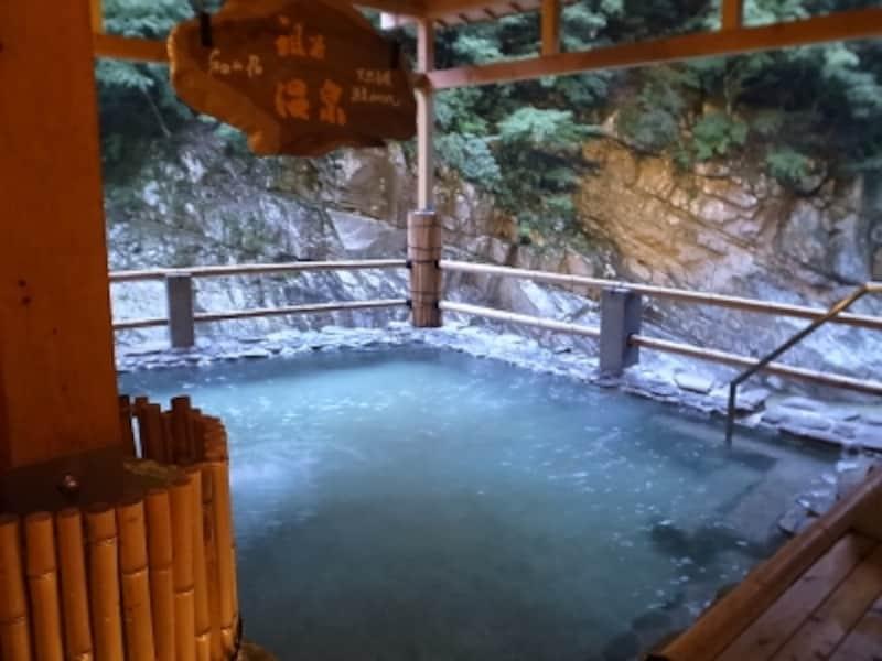 祖谷温泉露天風呂