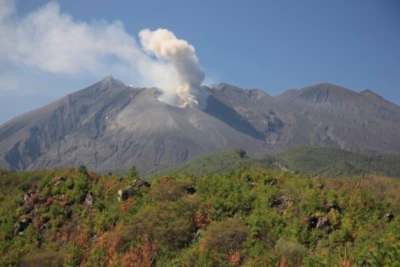 火山噴出物が堆積した土壌は土砂災害の危険性が高くなる