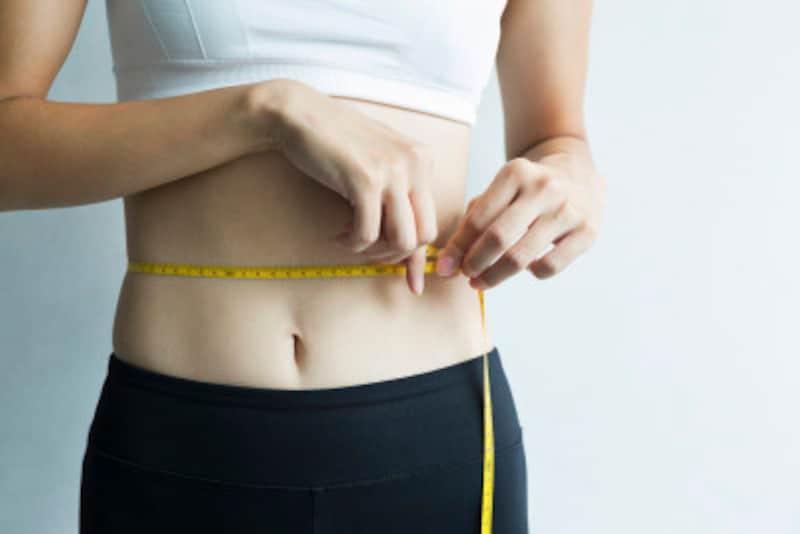 体質の変化で脂肪がお腹に!