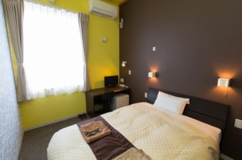 壁紙の色が部屋によって違います