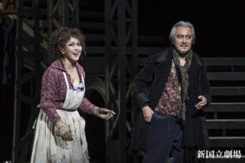 『三文オペラ』撮影:谷古宇正彦undefined写真提供:新国立劇場