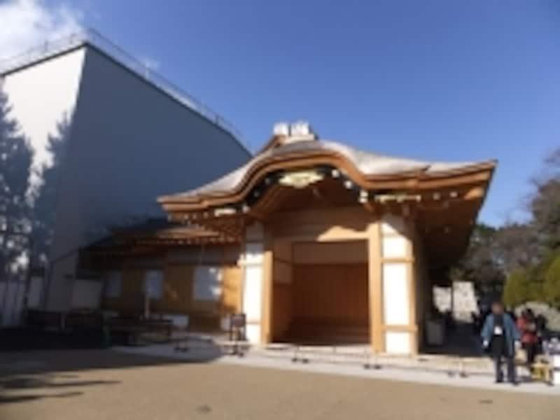 名古屋城本丸御殿(2)/玄関