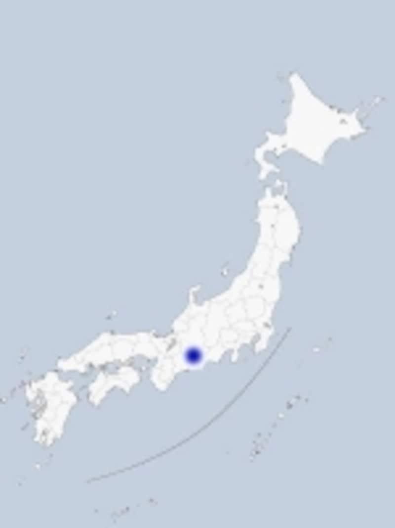 名古屋の地図
