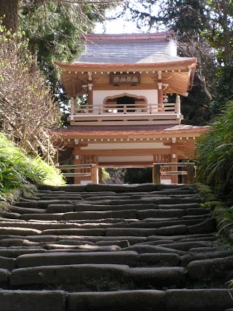 浄智寺の参道