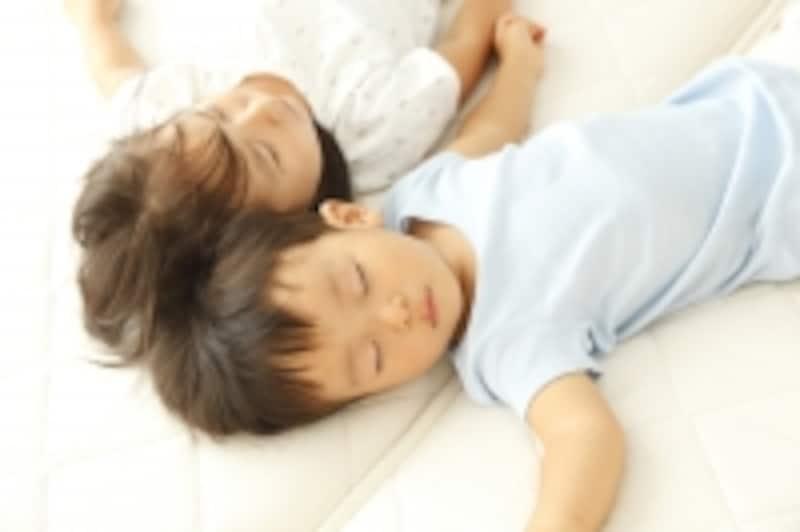 保育園での昼寝
