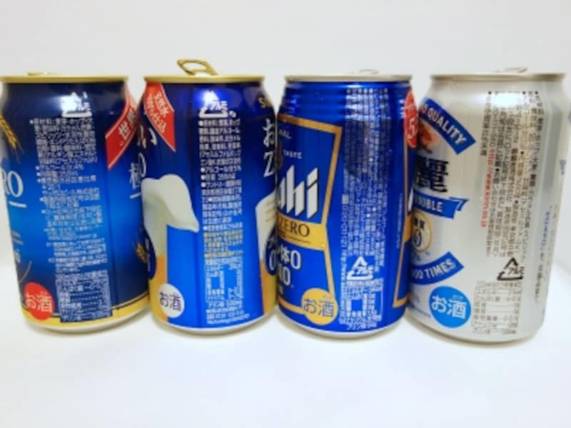 各社ビールの原材料等