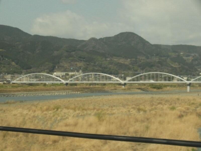 富士川水管橋