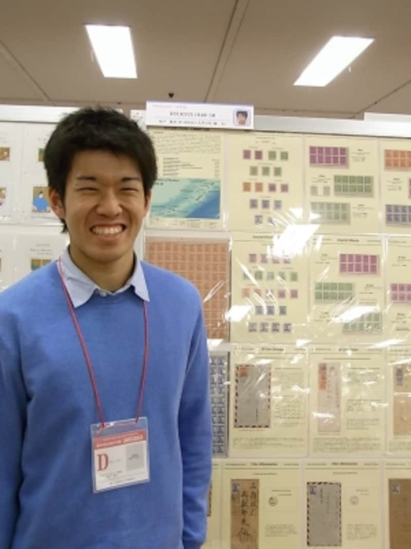 木戸さんと琉球切手