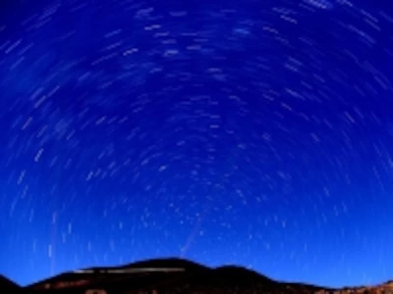 マウナケア山麓undefined星空観測