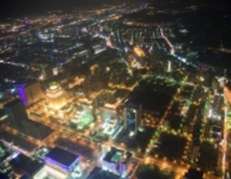 台北101から見下ろす夜景
