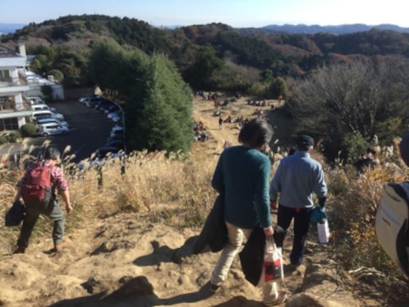 大平山山頂からの眺め