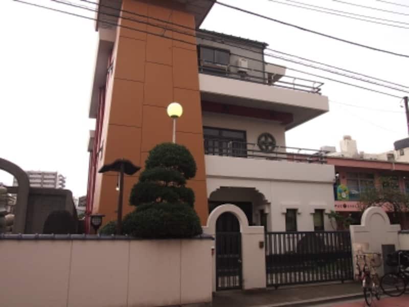 仰願寺蝋燭発祥の地