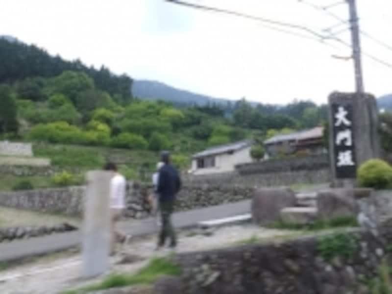 熊野古道・大門坂入口