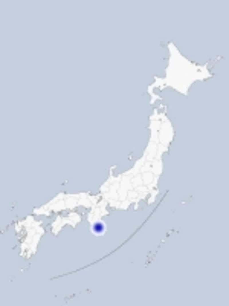 那智山の地図