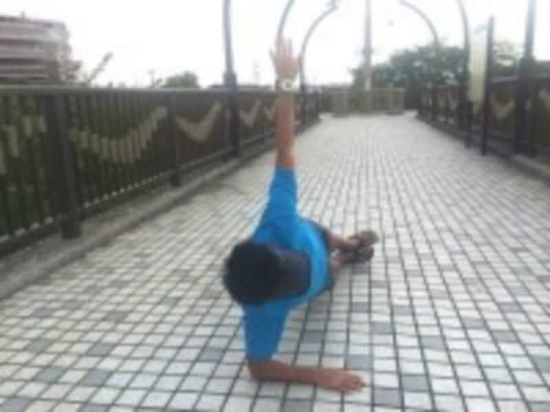 体幹トレーニング,サイドプランク
